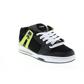 Chaussures de baskets osiris PXL Mens Black Synthetic Skate Inspired