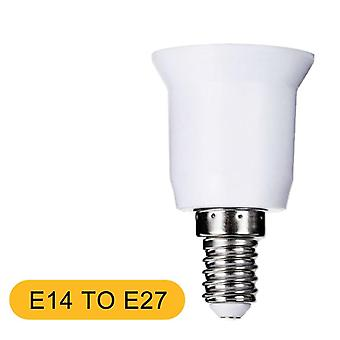 E14 To E27 Lamp Holder Converter With Led Lamp Base Bulb Socket ;household