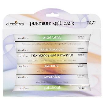 Что-то другое Элементы Благовония Палочка Премиум Подарочный Пакет (Пакет из 6)