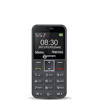 Geemarc Telecom SA Geemarc CL8360- Amplified Mobile Phone with Extra Loud Ringer, Talking Keypad, Caller ID, Camera and SOS Function- Specialized for Hard of Hearing- UK Version