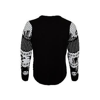 Nachtmerrie voor Kerstmis Unisex Volwassen Symbolen Sweatshirt