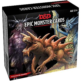 Dungeons & Dragons D&D Monster Cards: Epic Monsters 77 cards