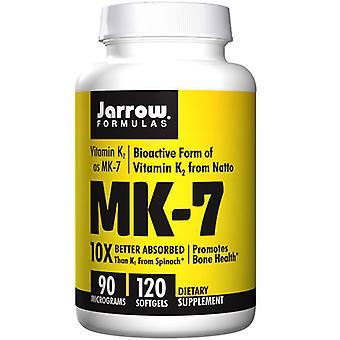 Jarrow Formulas MK-7, 90 mcg, 120 Soft Gels