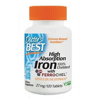 Lääkärit Paras korkea absorptiorauta Ferrochelilla, 120 tabia
