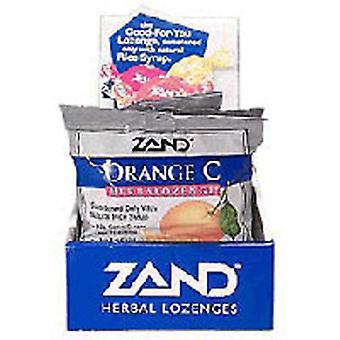 Zand Herbalozenge Orange C, 15 LOz