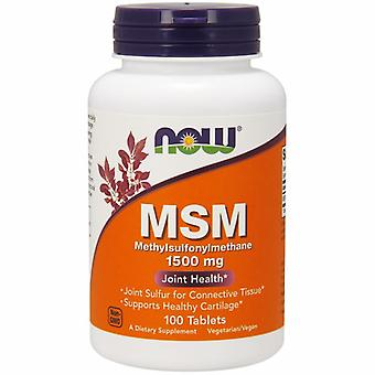 Now Foods M.S.M, 1500 mg, 100 Tabs