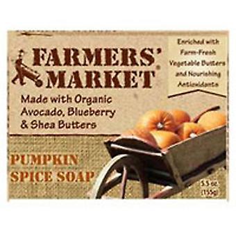 Farmers market Natural Bar Soap, Pumpkin Spice 5.5 oz