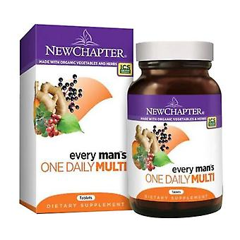 New Chapter Every Man One Daily Multi, 24 tabs