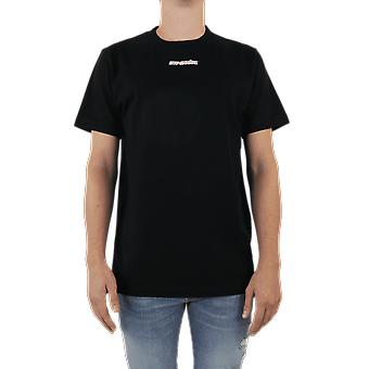 OFF WHITE Marker S/S Slim Tee Black OMAA027E20JER0051045 Top