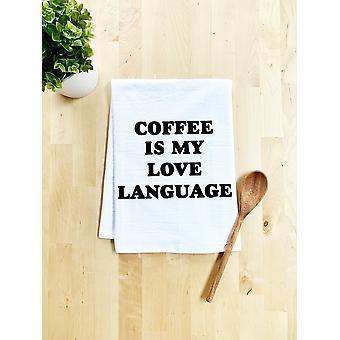 Kahve Benim Aşk Dilim - Bulaşık Havlusu