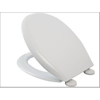 Croydex Easy Fix Toilet Seat White WL401022H