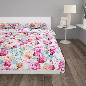 3-pcs. Winter Duvet Set Fabric Printed 200x200/80x80 cm