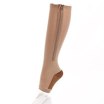 Soutien aux jambes Stretch Compression Chaussettes Hommes Femmes exécutant Athletic Medical