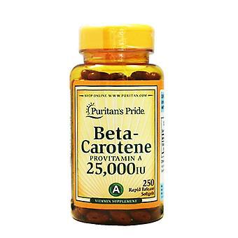 Bêta-carotène 25 000 Iu 250 Pc