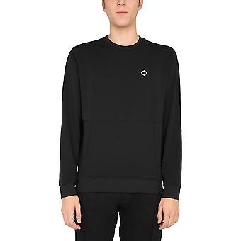 Ma.strum Mas4447m000 Men's Black Polyester Sweatshirt