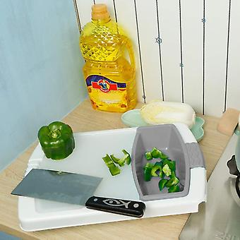 Nonslip Over-the-sink Cutting Board