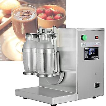 Double Head Automatic Milk Tea Cup Shaker, Bubble Milkshake Machine