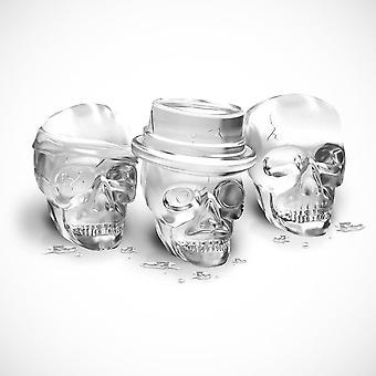 Knochen Chilling Schädel Eisform Set