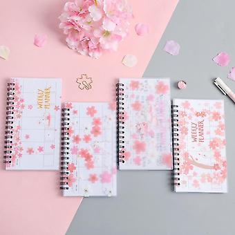 Diário de agenda portátil do notebook Kawaii