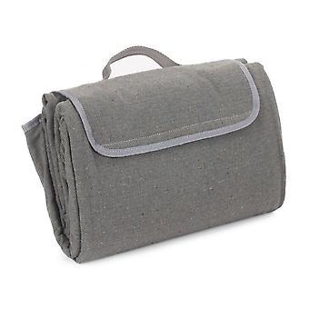 Szürke Tweed Piknik takaró