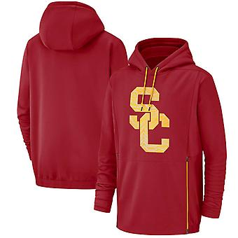 USC Trojans Men's Performance Pullover Hoodie Top WYX004