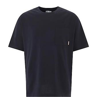 Acne Studios Bl0214black Men's Black Cotton T-shirt