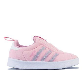 Girl & apos; s adidas Originals Infant Gazelle 360 Utbildare i Rosa