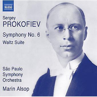 Prokofiev / Alsop / Sao Paulo Symphony Orchestra - Prokofiev: Symphony No. 6 Op. 111 - Waltz Suite [CD] USA import