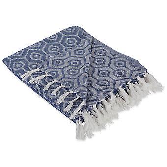 Dii Französisch blau Sechseck werfen Decke