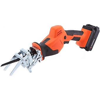 Yard Force 20V Cordless Garden Saw with Multiple Blades, Clamping Jaw, 2.0Ah Lithium-Ion Battery
