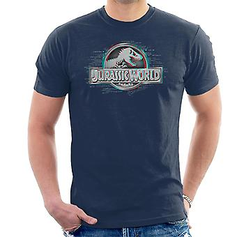 Jurassic Park X Ray Logo Men's T-Shirt