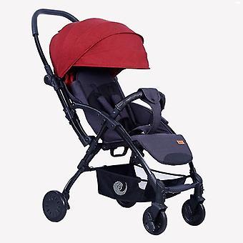 Portable Travelling Pram - Lightweight Pushchair Baby Stroller