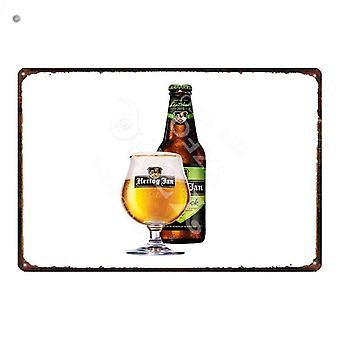 Beer Metal Sign Shabby Chic  Drinking Poster