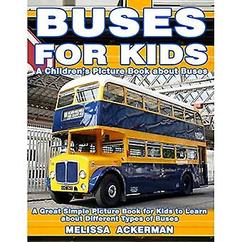 Bus for Kids: A Children's Picture Book about Buses: A Great Simple Picture Book for Kids to Learn about Different Types of Busses Buss