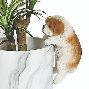 Straits Dog 20cm Outdoor Weatherproof Plant Pot Hanger