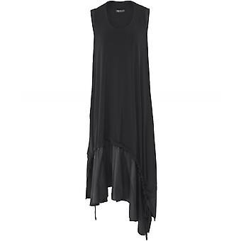 NU London Asymmetric Sleeveless Midi Dress