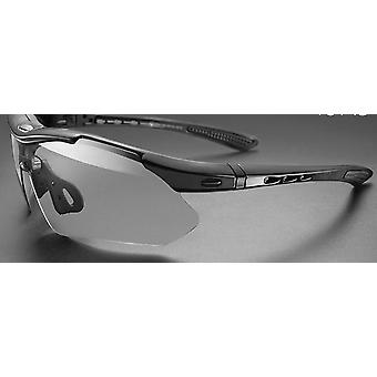 5 lentes óculos de ciclismo polarizados