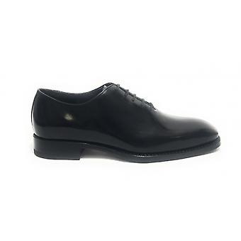 Men's Shoes Harris French Handmade Leather Shade Black U17ha128