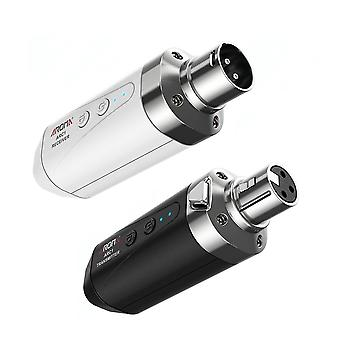 Microfoon draadloos transmissiesysteem 4 kanalen max. 35m effectieve bereik xlr verbinding