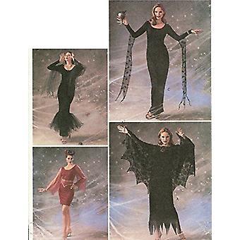 Butterick ompelu kuvio 3554 missaa Halloween mekko puku koko 18-22