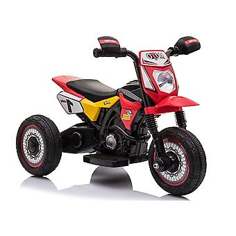 Elektrisches Dreirad mit Sound – Motor Red