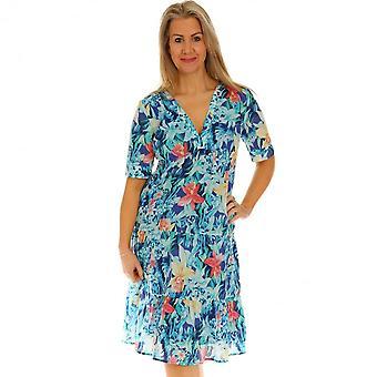 POMODORO Pomodoro Turquoise Dress 62112