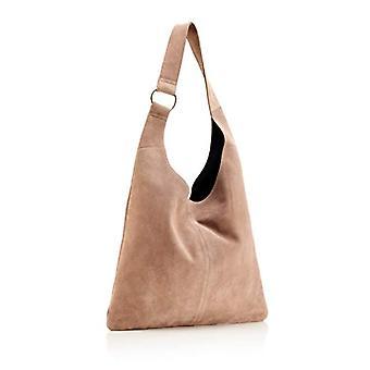 The Handbag Edit Sling Shoulder Bag - Women's Shoulder Bags, Beige (Taupe), 10x36x32 cm (W x H L)