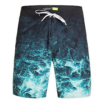 Quiksilver Everyday Rager 18 Mid Length Boardshorts in Caribbean Sea