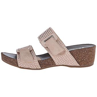 Naturalizer Womens Carena Fabric Open Toe Casual Platform Sandals