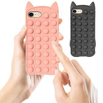Iphone 7/8/se (2020) - Shell / Schutz / Pop It Fidget