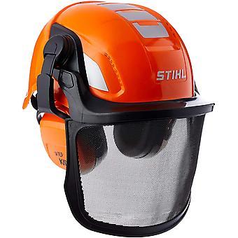 Unisex Kinder Helmset Spielzeughelm, Orange, Einheitsgröße