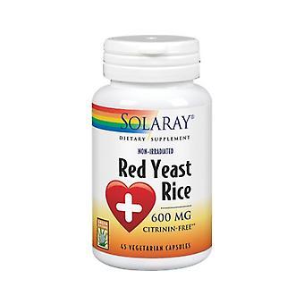 Solaray Röd Jäst Ris, 600 mg, 45 Veg Caps