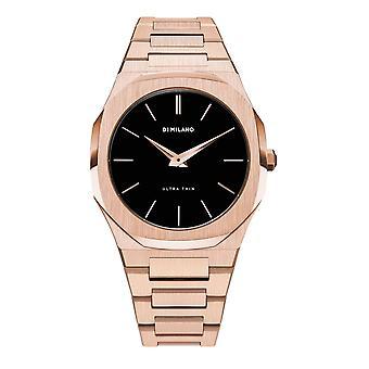 Watch D1 Milano ULTRA THIN Quartz - Pink Dial - 40 mm - UTB03
