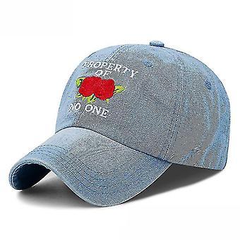 Chapeau de baseball en denim Sun Hat Rhinestone Snapback Hat
